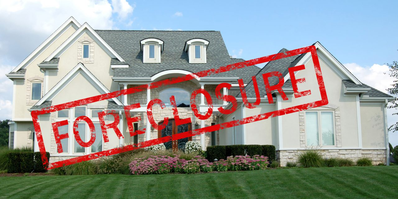 Get the list of foreclosure and power of sale properties